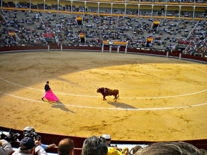 Bullfighting in Madrid