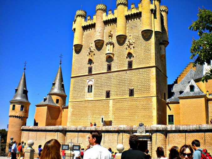 Exploring the Alcázar of Segovia