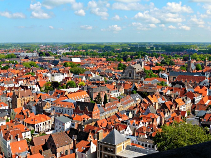 The Best Views in Bruges from the Top of the Belfry