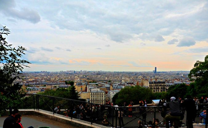 In Photos: Watching the Sunset from the Sacré Cœur
