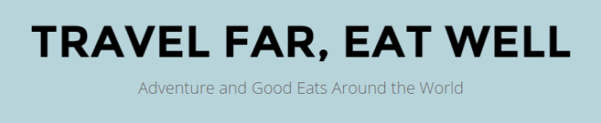 BIG NEWS: Travel Far, Eat Well is Moving!